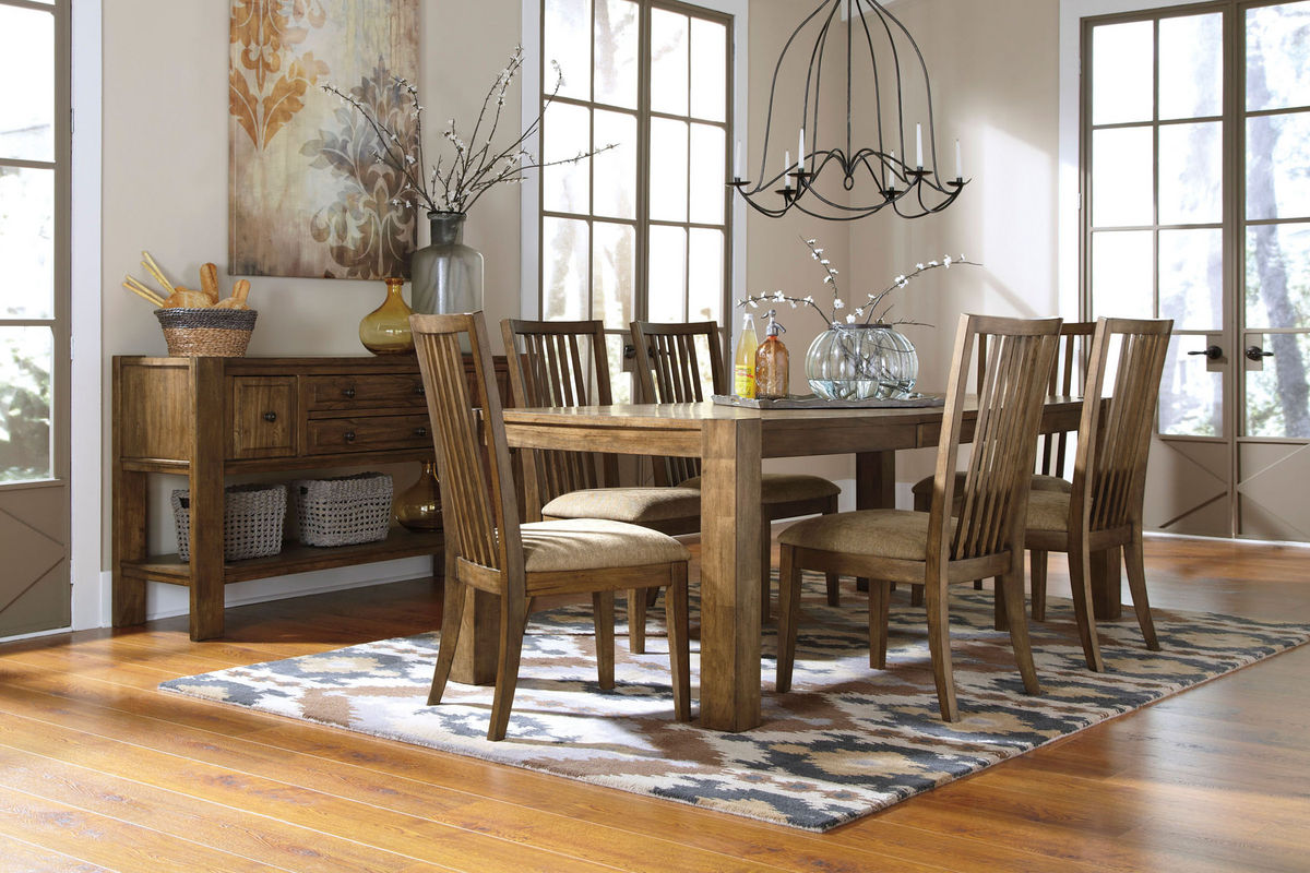 Birnalla Dining Table and 6 Side Chairs from Gardner White Furniture. Birnalla Dining Table and 6 Side Chairs