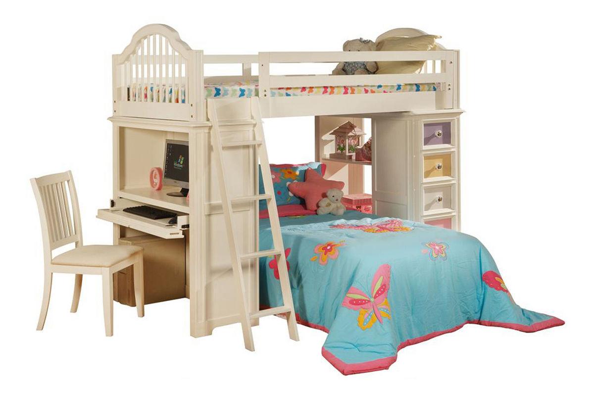 Jenny Twin Loft Bedroom Set From Gardner White Furniture
