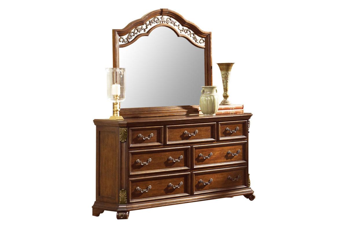 Maletto Dresser + Mirror from Gardner-White Furniture