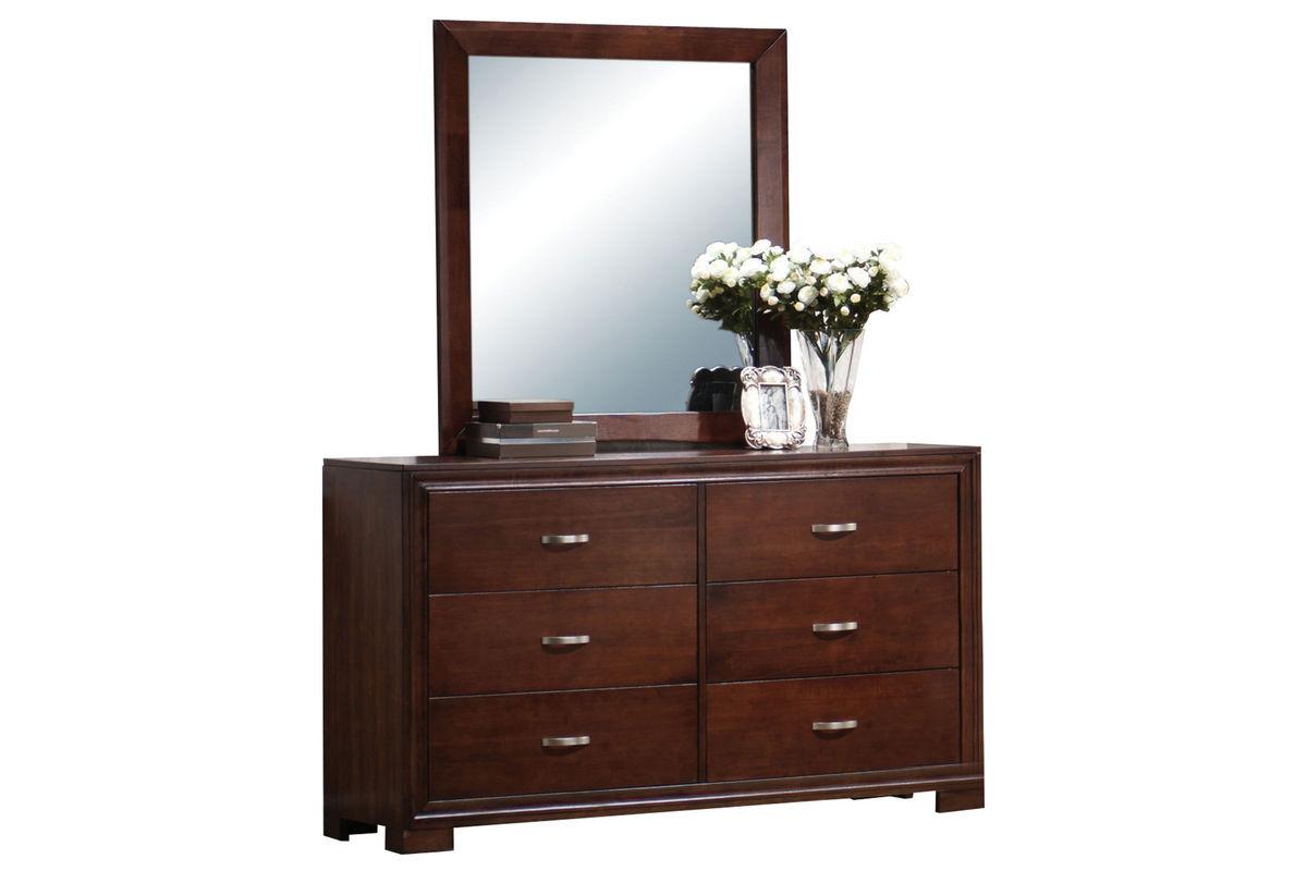 Raven Dresser + Mirror from Gardner-White Furniture