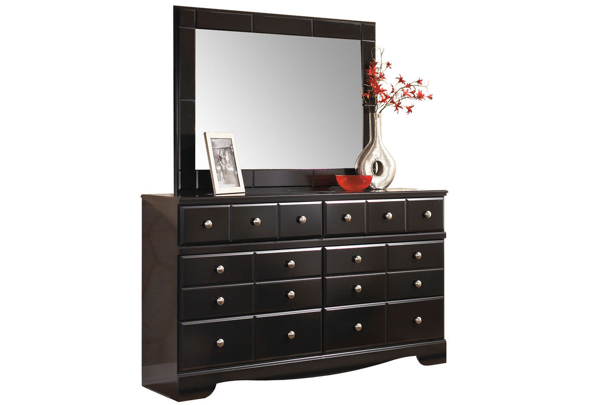 shay dresser mirror at gardner white. Black Bedroom Furniture Sets. Home Design Ideas