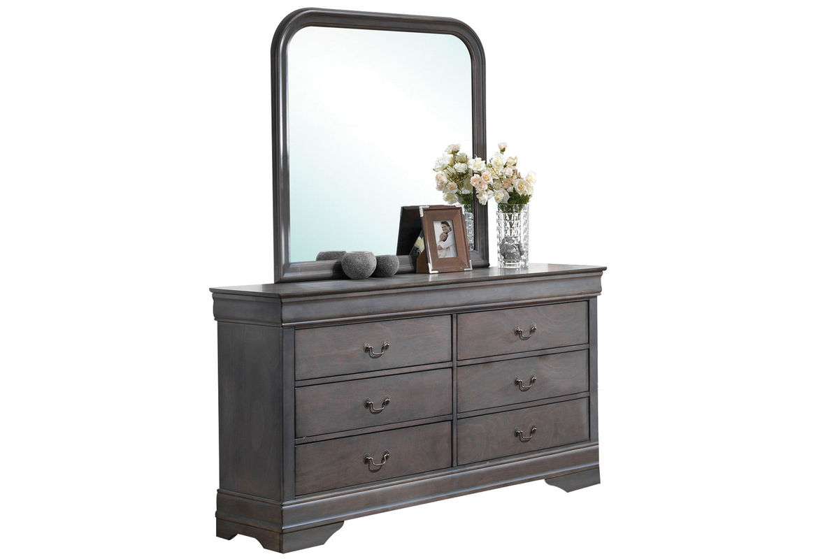 Sulton Dresser + Mirror from Gardner-White Furniture
