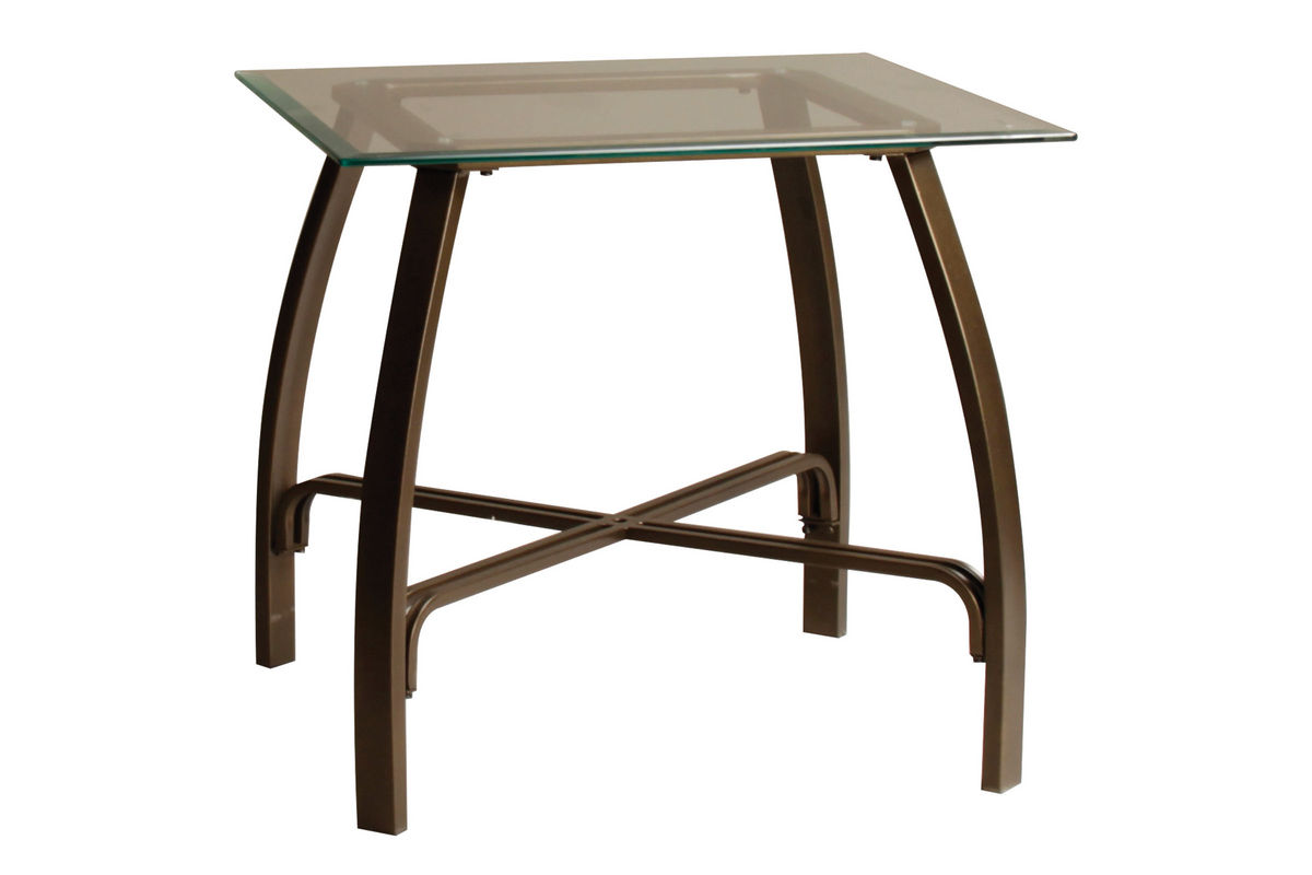 Bronze Glass Cocktail Table 2 End Tables At Gardner White