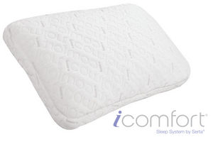 Icomfort 174 Freestyle Queen Pillow By Serta 174