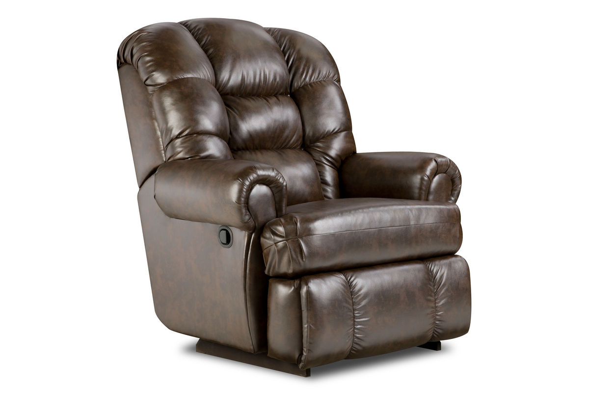 Beau Big Man Leather Recliner From Gardner White Furniture