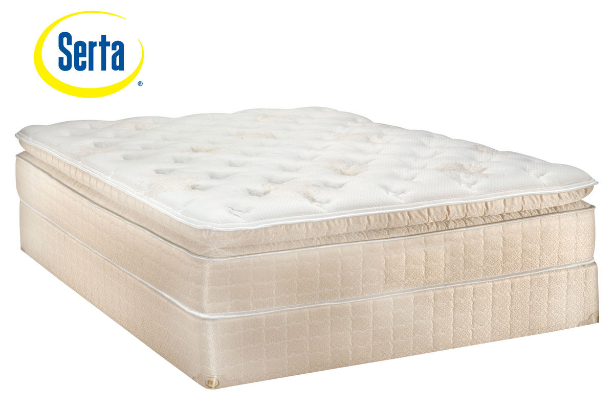 Sertar perfect sleepertm longview queen foundation at for Furniture mattress outlet longview