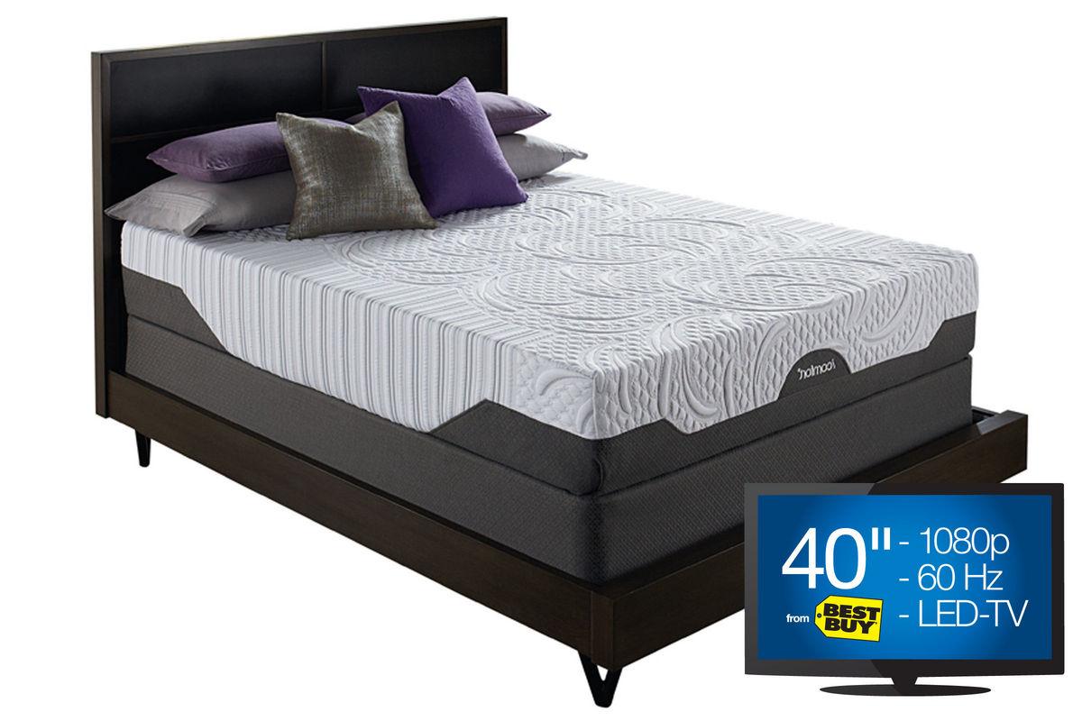 Icomfort savant with everfeel firm queen mattress for Gardner white credit