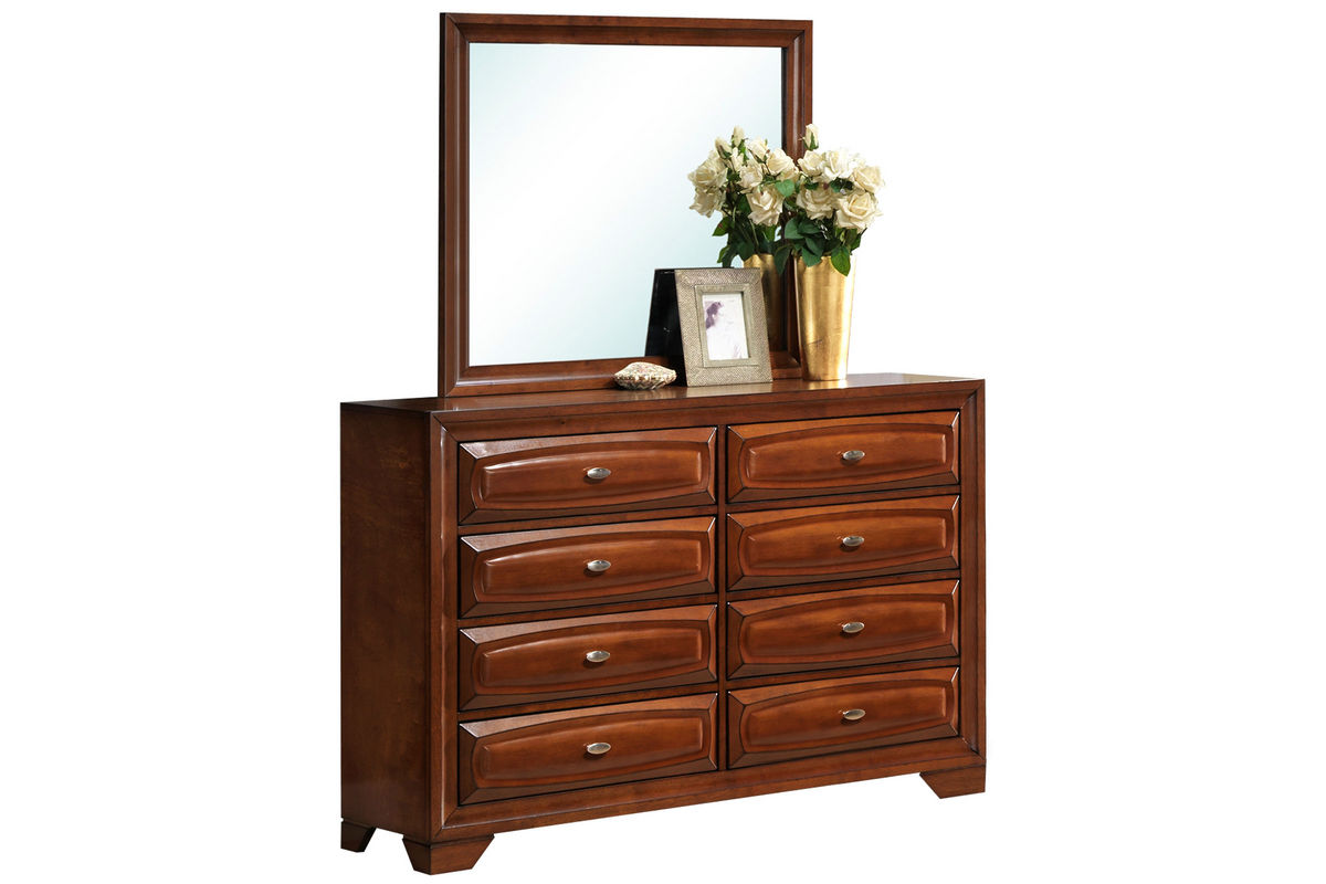 roswell dresser mirror at gardner white. Black Bedroom Furniture Sets. Home Design Ideas