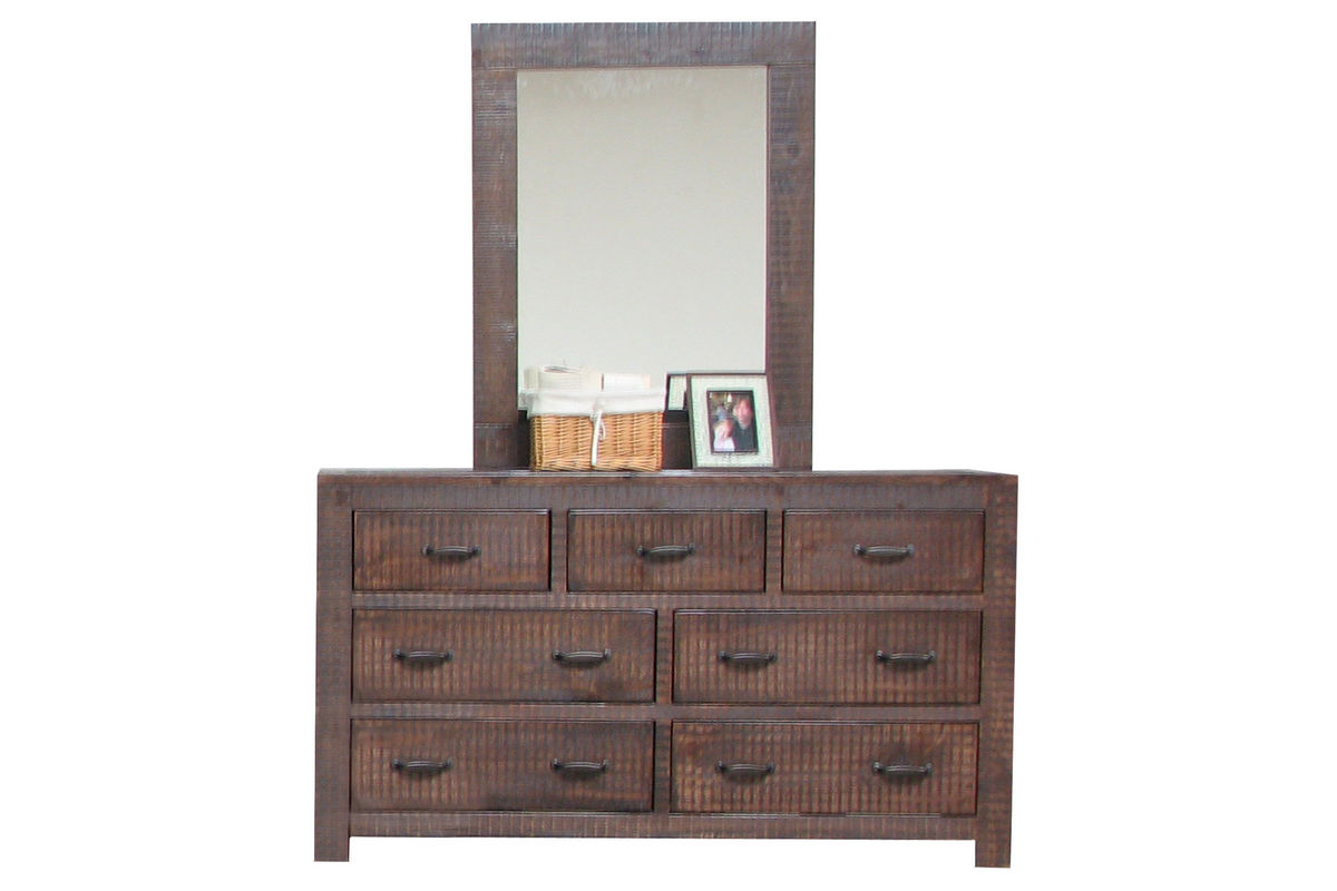 walnut dresser mirror at gardner white. Black Bedroom Furniture Sets. Home Design Ideas