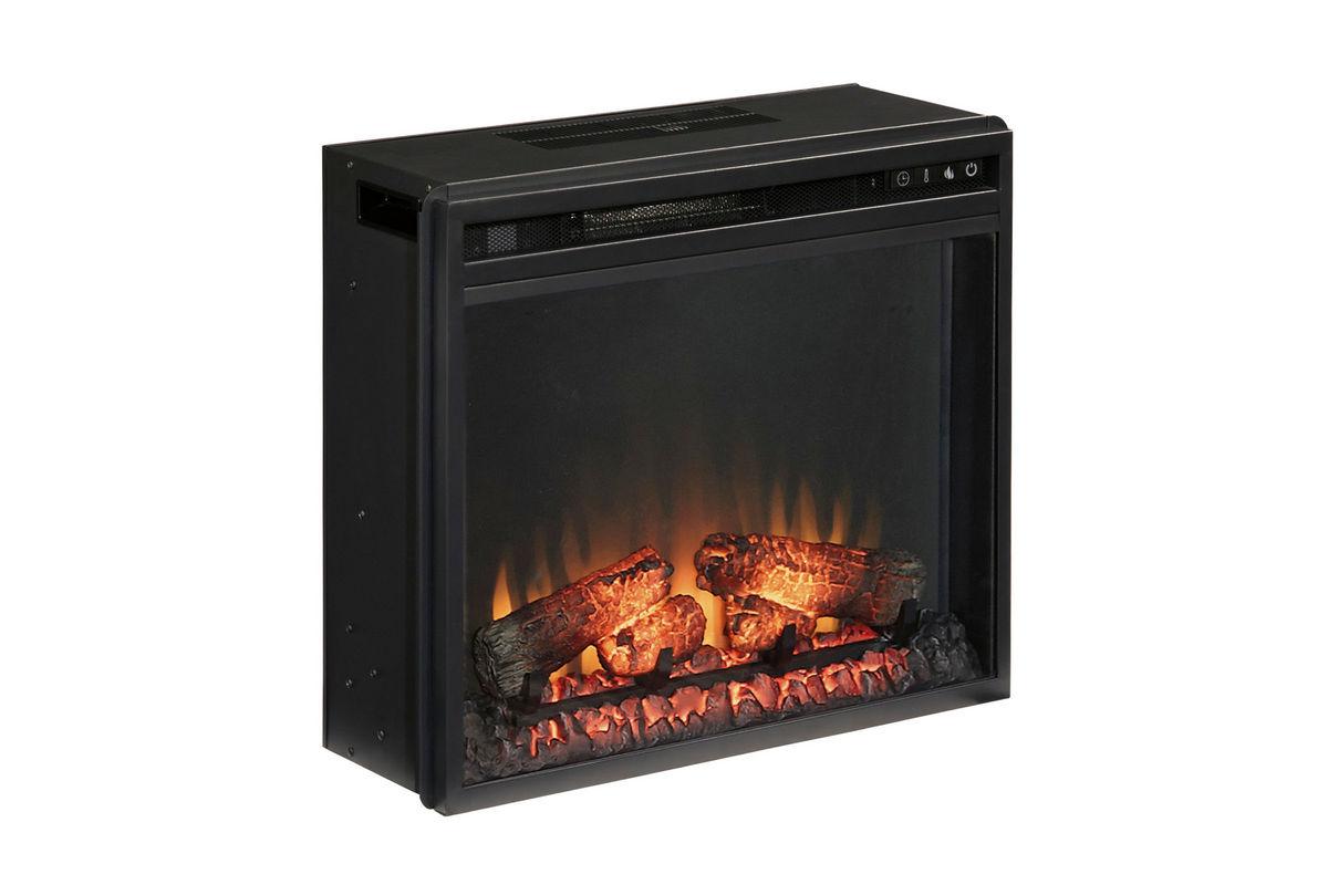 Vinasville Black Electric Fireplace Insert at Gardner White