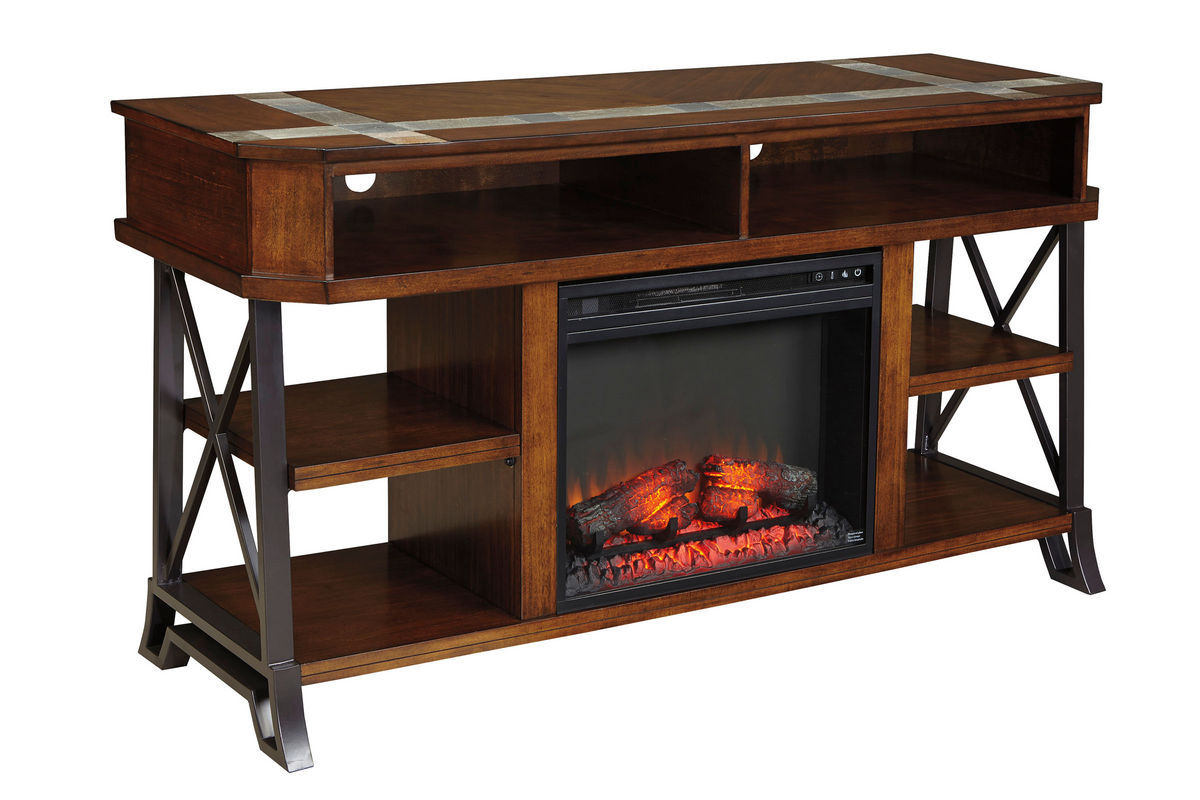 Vinasville Media Stand With Electric Fireplace From Gardner White Furniture  Fireplace Media Stand