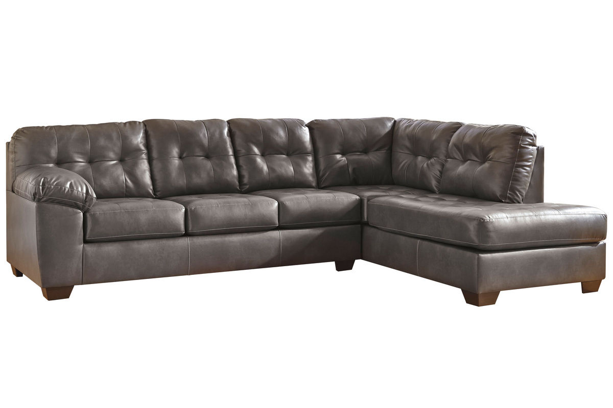 Edison Bonded Leather Sectional From Gardner White Furniture