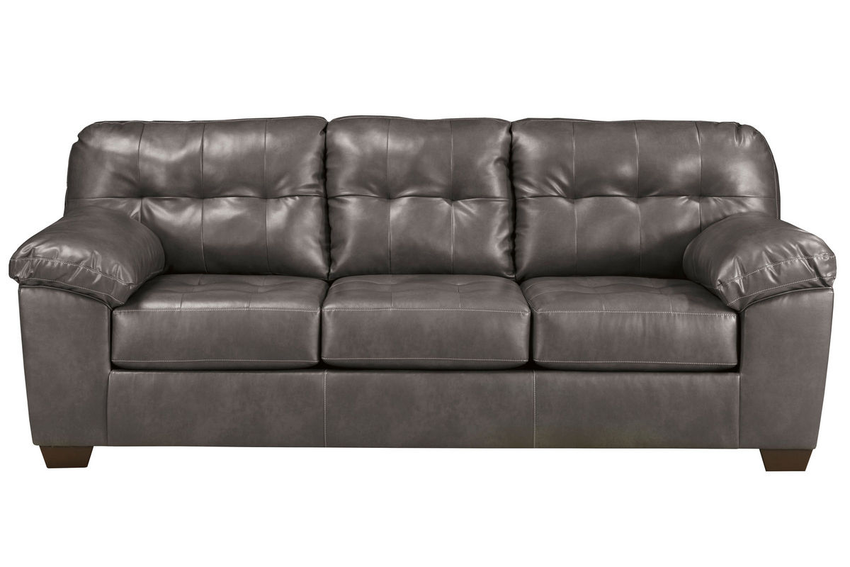 Edison Bonded Leather Sofa From Gardner White Furniture