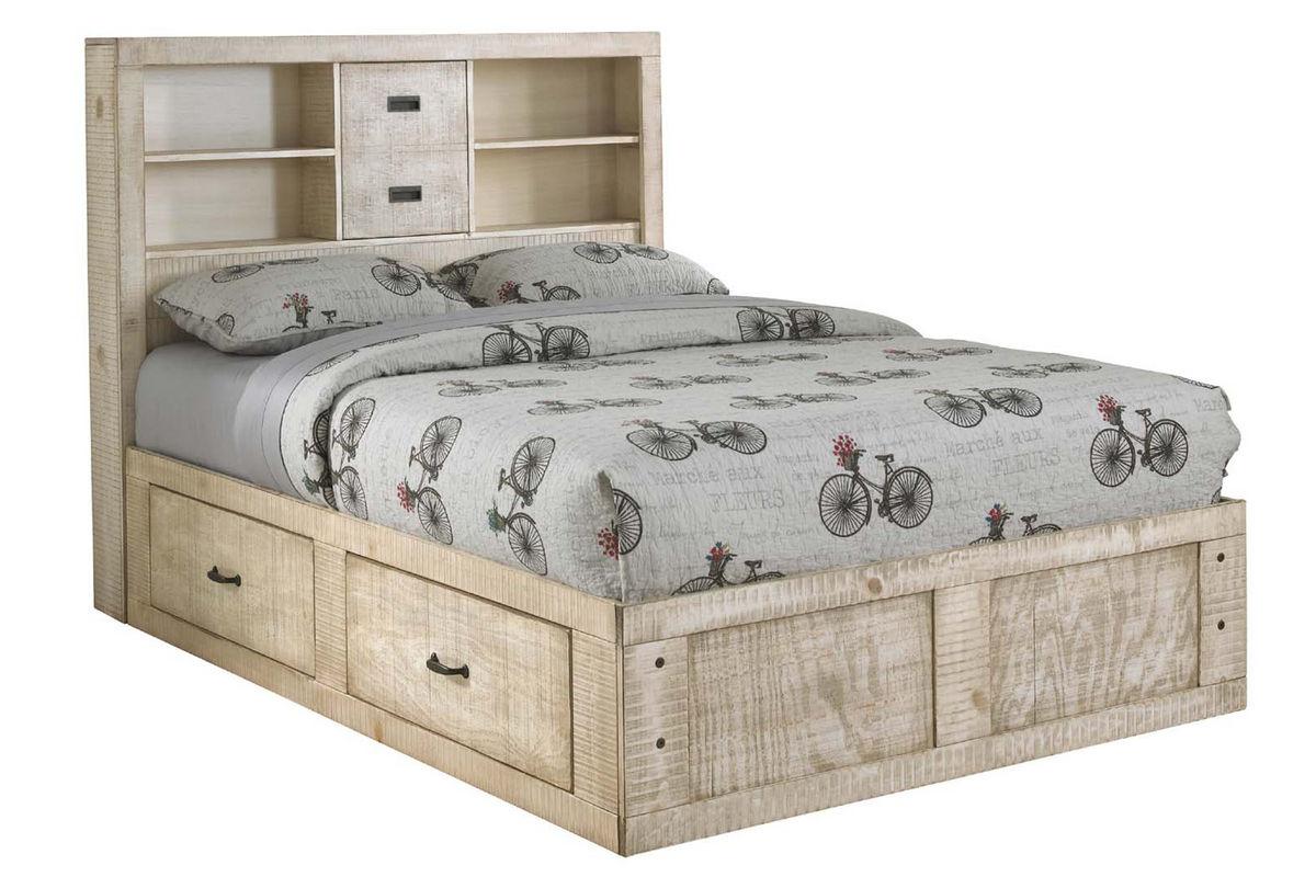 Captain bed full - White Full Captains Bed From Gardner White Furniture