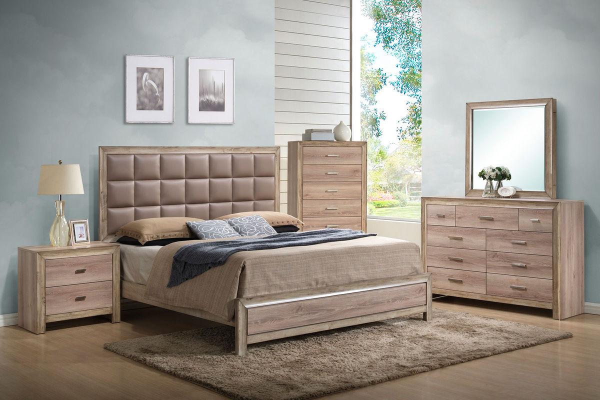 Sawyer King Bed at Gardner-White