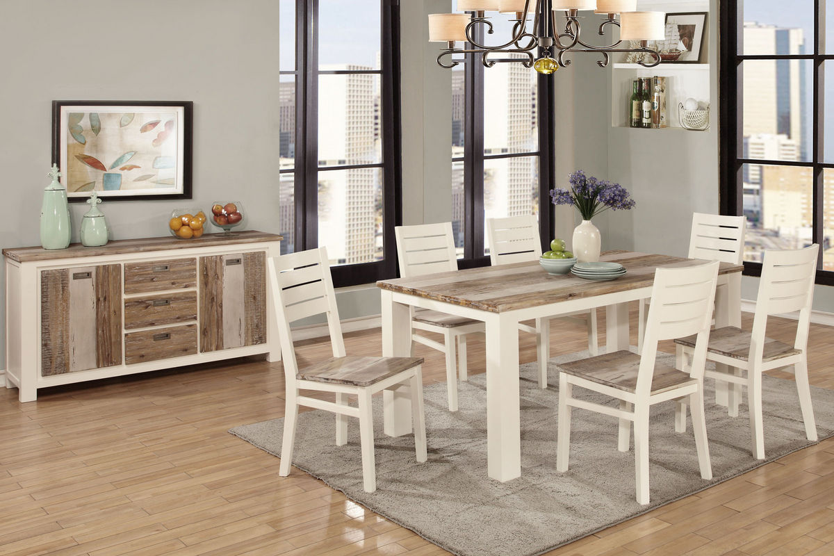 Windsong Dining Set With 6 Side Chairs From Gardner White Furniture