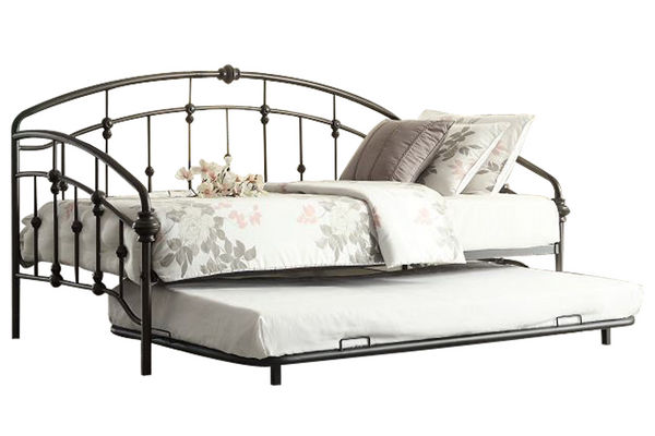 Alex Bronze Daybed With Trundle