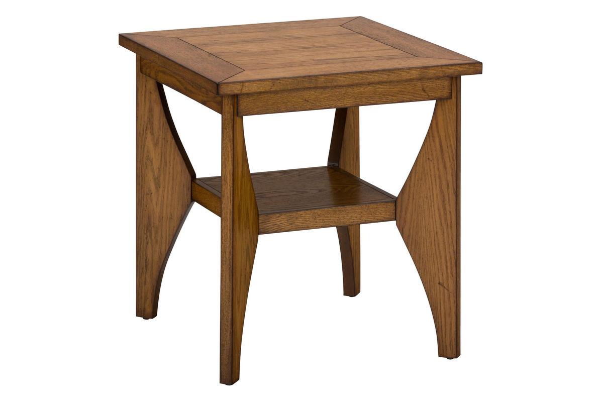 Beau Honey Oak End Table From Gardner White Furniture