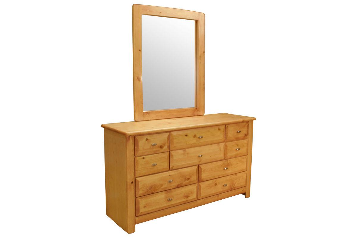 Laguna Carmel Dresser + Mirror from Gardner-White Furniture