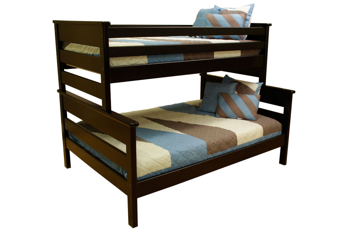 Laguna Black Twin-Over-Full Bunk Bed from Gardner-White Furniture