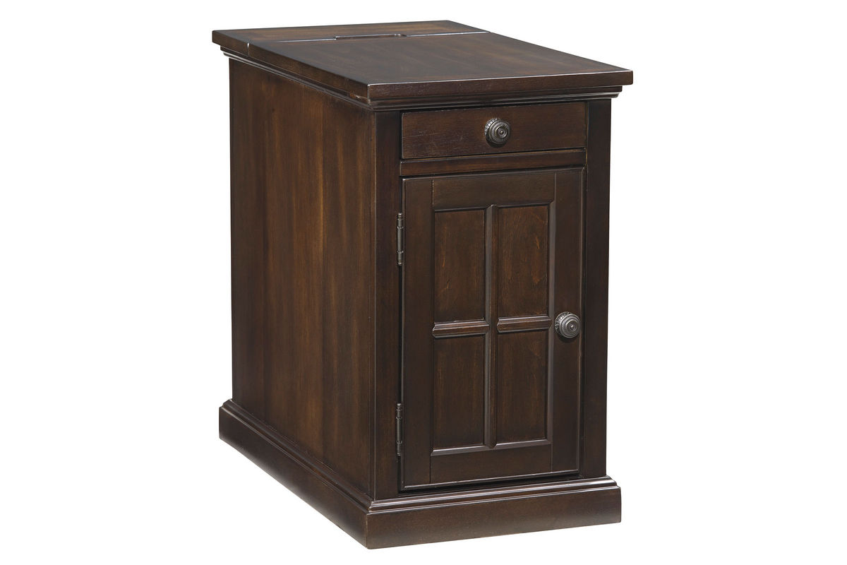 Dark Brown Power Chair Side End Table By Ashley From Gardner White Furniture