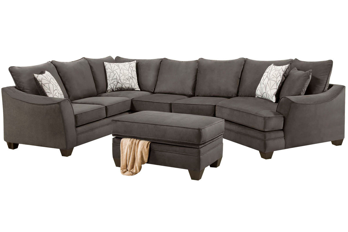 Cosmo Microfiber Sectional from Gardner-White Furniture