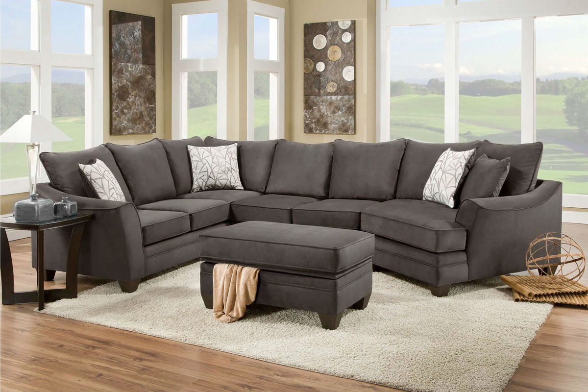 Share : micro fiber sectional - Sectionals, Sofas & Couches