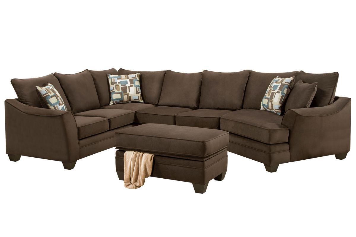 Boca Microfiber Sectional from Gardner-White Furniture  sc 1 st  Gardner-White : gardner white sectionals - Sectionals, Sofas & Couches