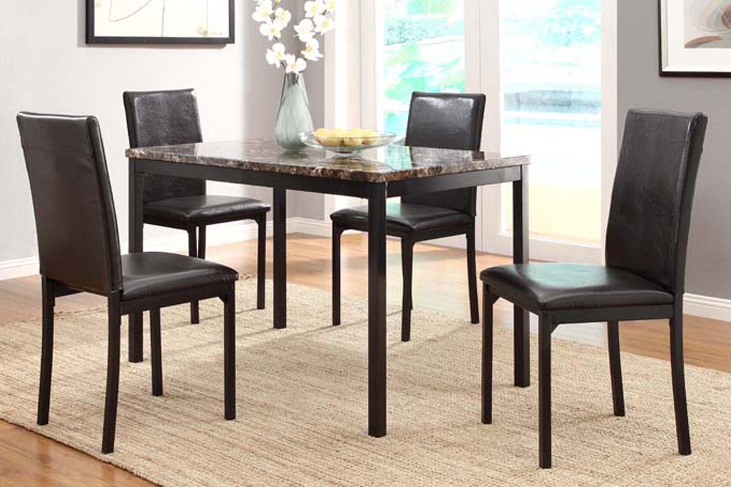 Julia Dining Table + 4 Chairs