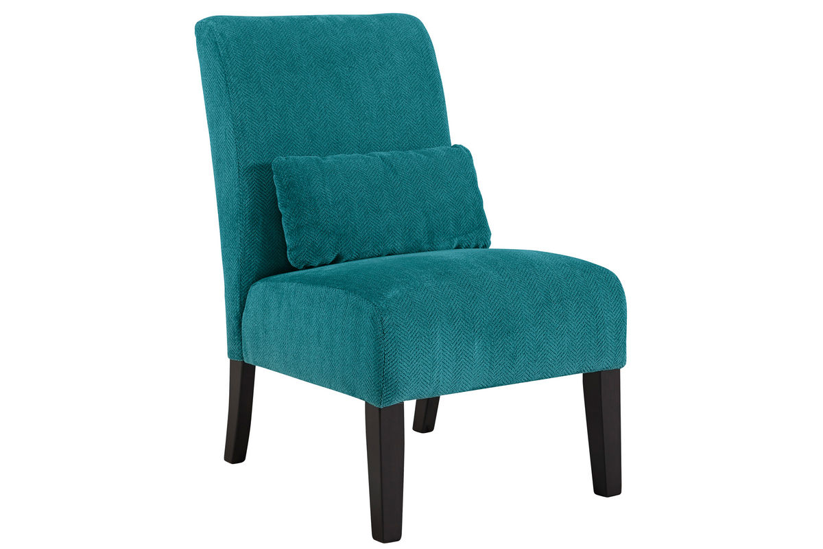 Annora Teal Accent Chair by Ashley from Gardner-White Furniture