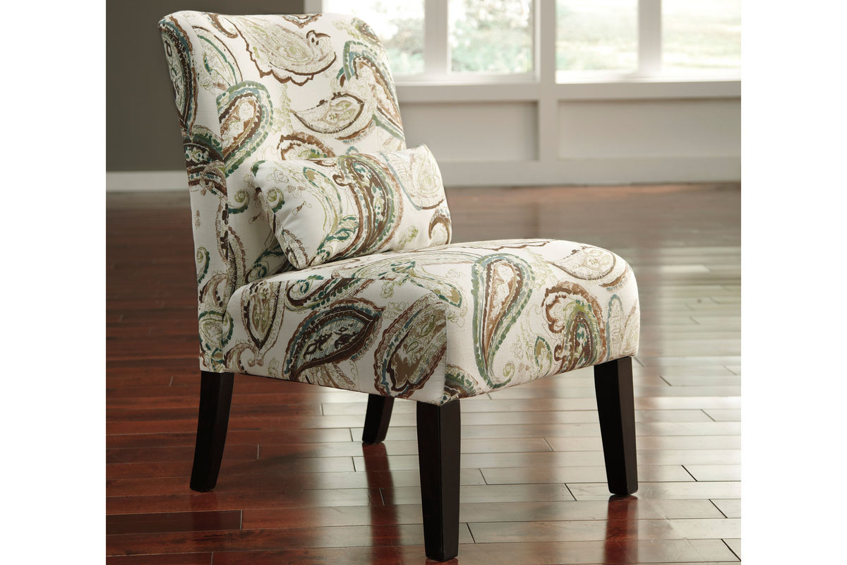 Annora Paisley Accent Chair By Ashley