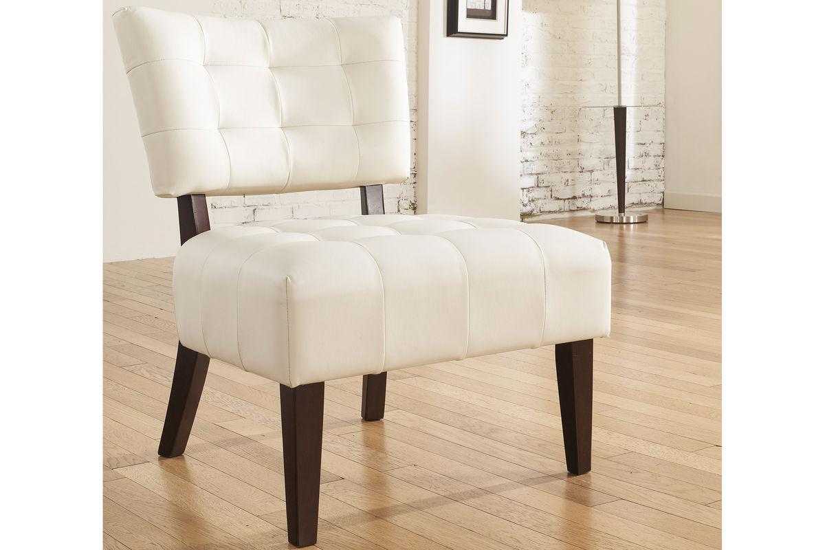 Matrix Ivory Accent Chair 7540160 Fdrop 170629 At Gardner