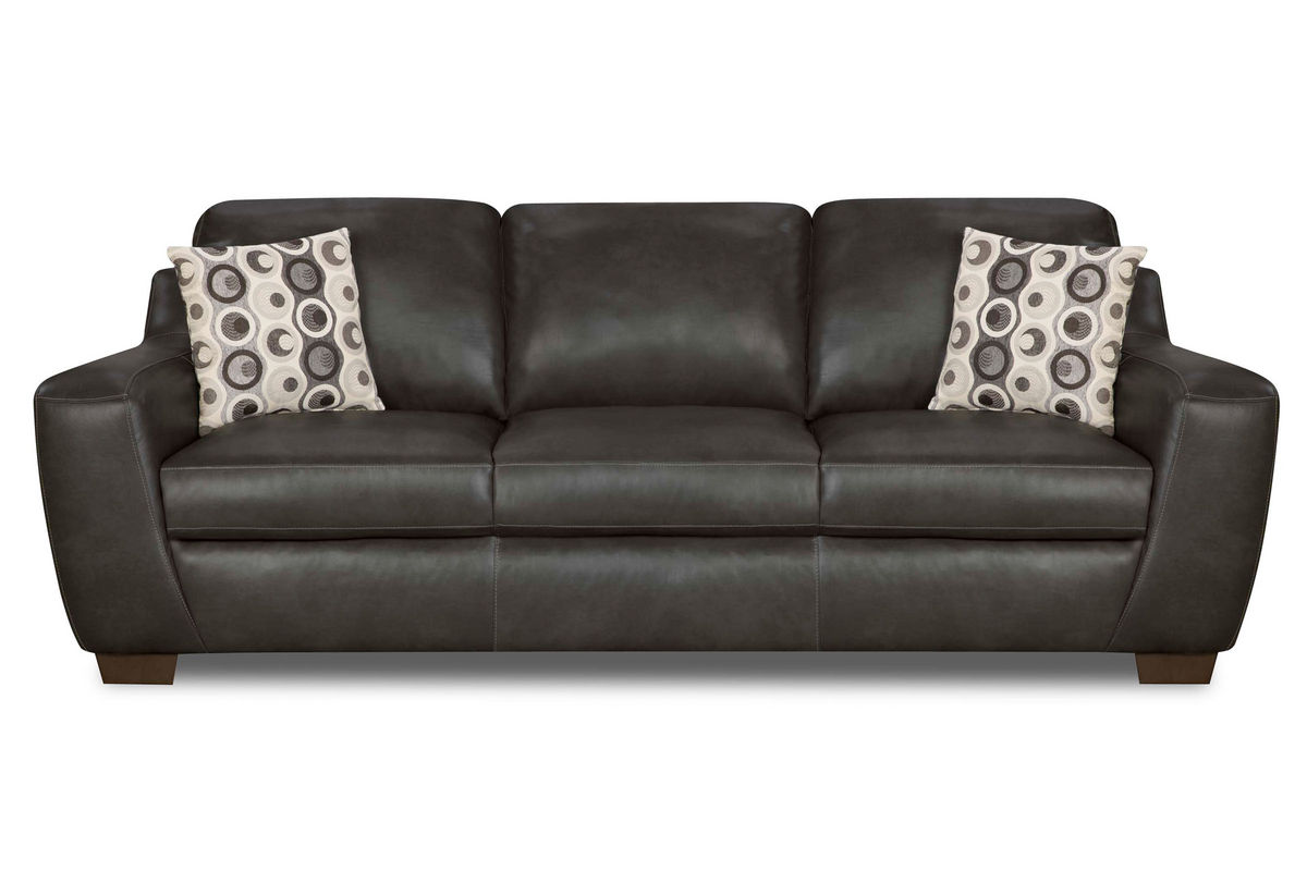 Naples Leather Sofa From Gardner White Furniture
