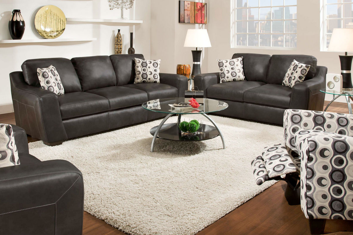 Naples Leather Sofa