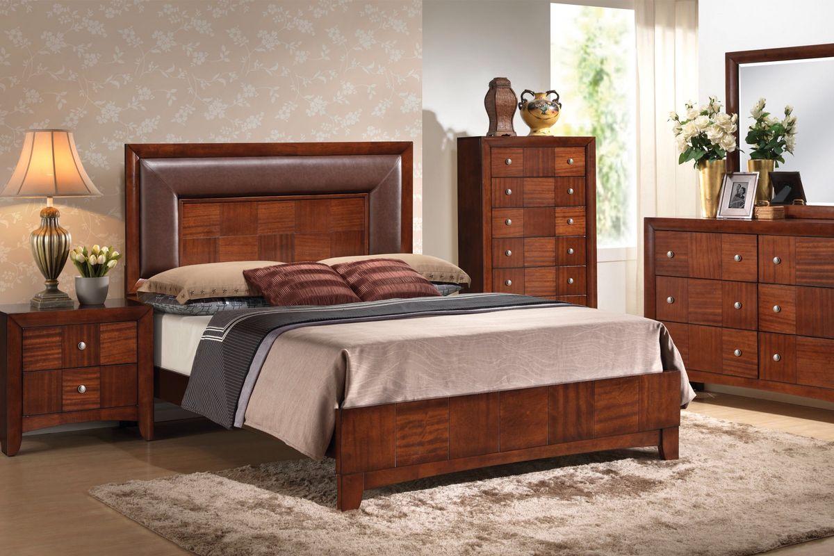 Lambert king 4 piece bedroom set at gardner white for Gardner white bedroom sets