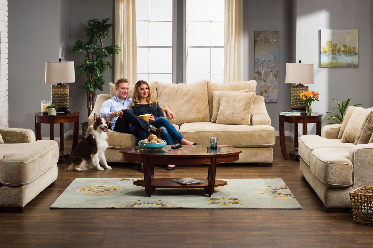 . Cooper Microfiber Sofa