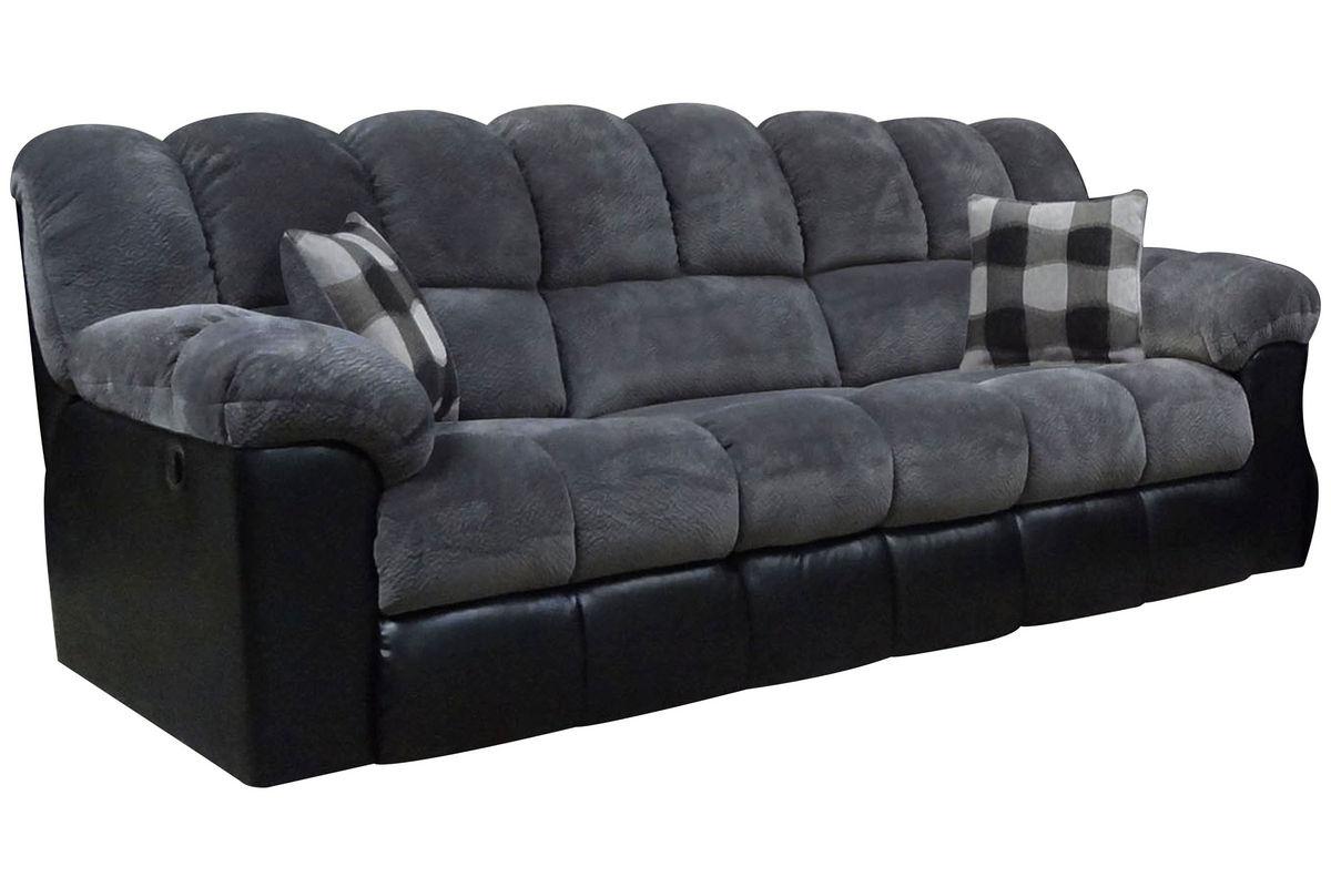 Microfiber Sofa Recliner Homelegance Quinn Reclining Sofa