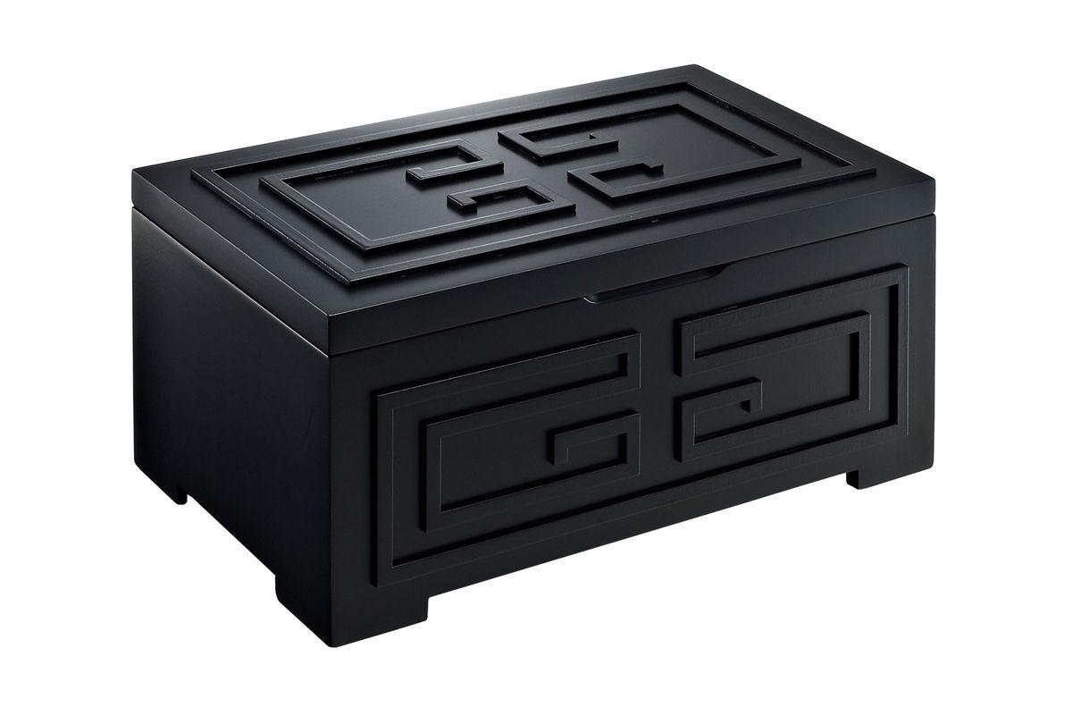 Enna Black Jewelry Box Powell 126 J117 At Gardner White