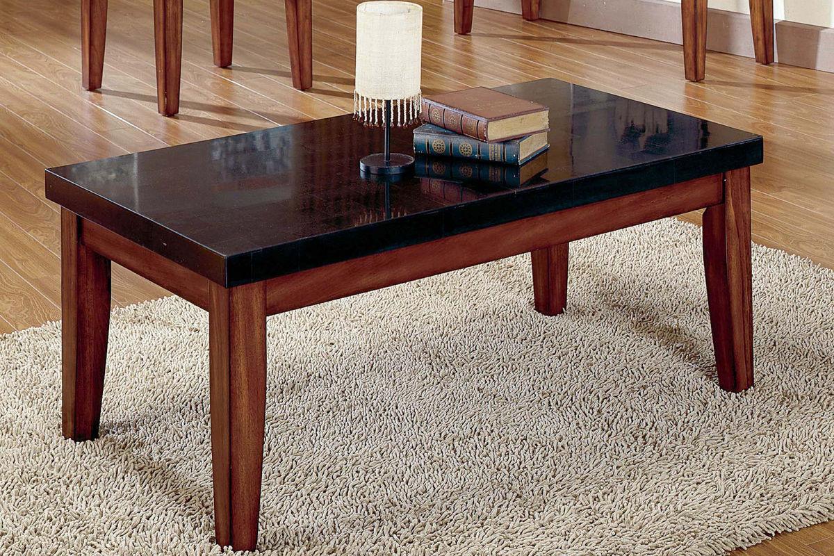 city wood granite cocktail table at gardner white. Black Bedroom Furniture Sets. Home Design Ideas