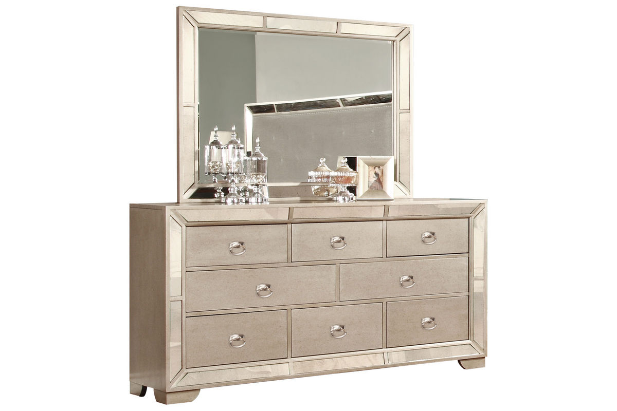 image dresser mirror at gardner white. Black Bedroom Furniture Sets. Home Design Ideas