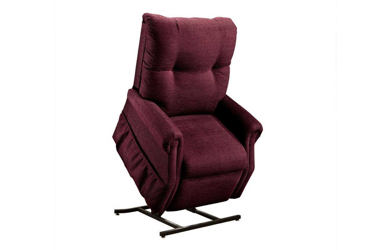 f94895a53f663 MedLift Two-Way Reclining Lift Chair - Dawson - Maroon 1155DM from  Gardner-White