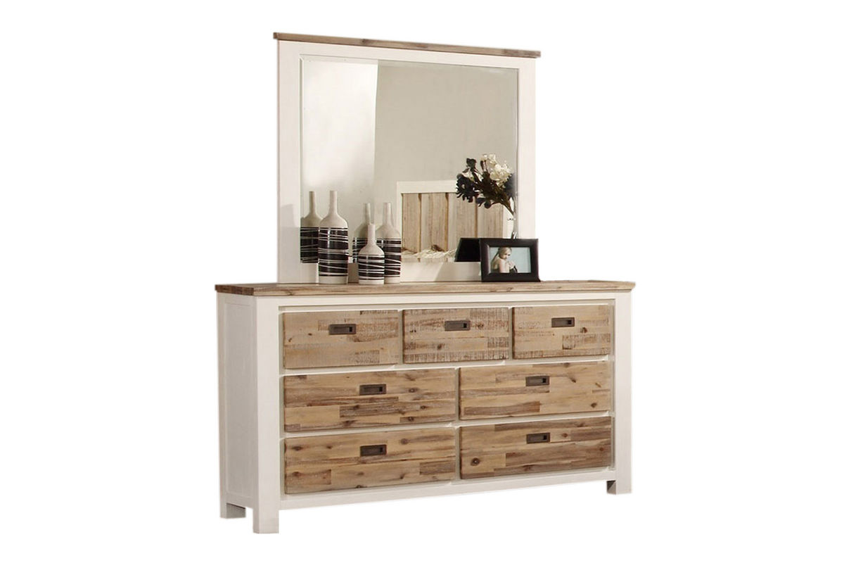 Western Dresser + Mirror from Gardner-White Furniture