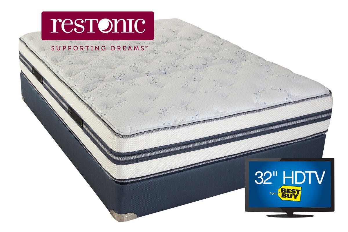 Restonic 174 Comfort Care Select Pensacola Plush Twin Mattress