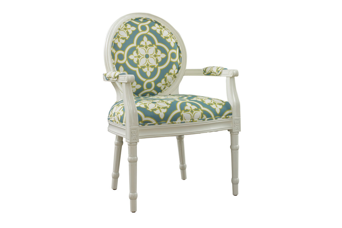 White U0026 Teal Ghost Chair Powell 929 630 From Gardner White Furniture