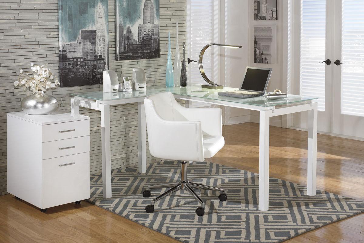 barga home office swivel desk chair h410-01a