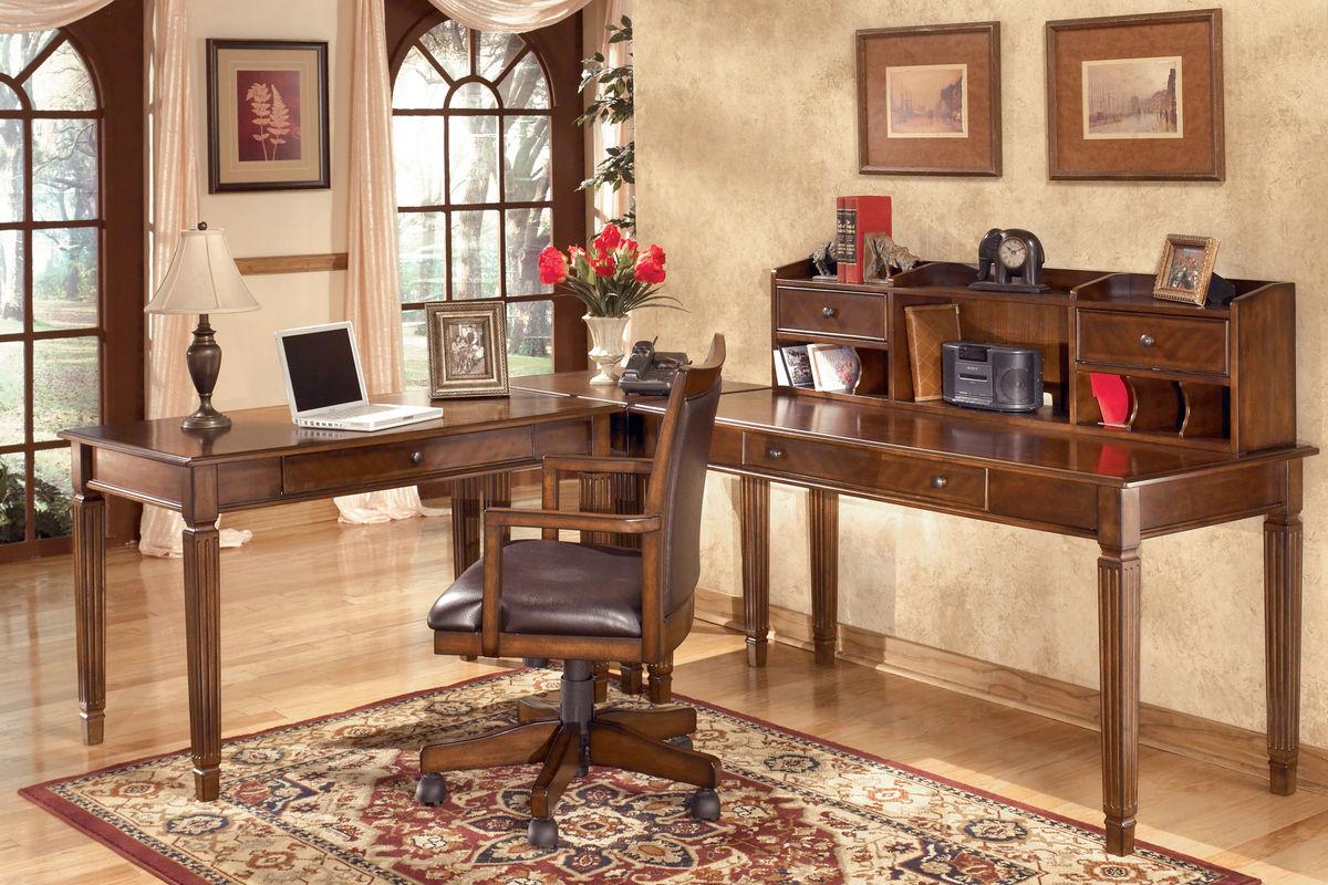 Hamlyn Home Office Swivel Desk Chair By Ashley At Gardner White