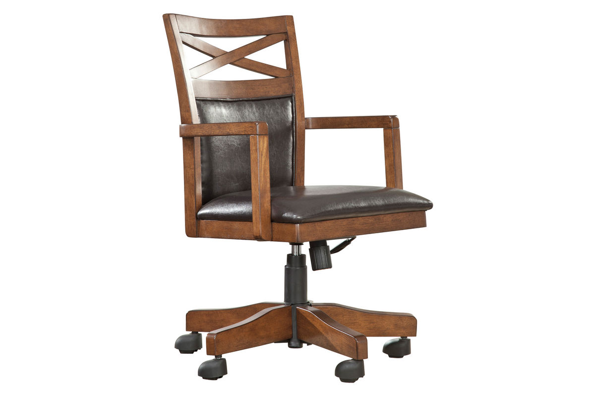 burkesville home office desk chair h565 01a from gardner white furniture burkesville home office desk