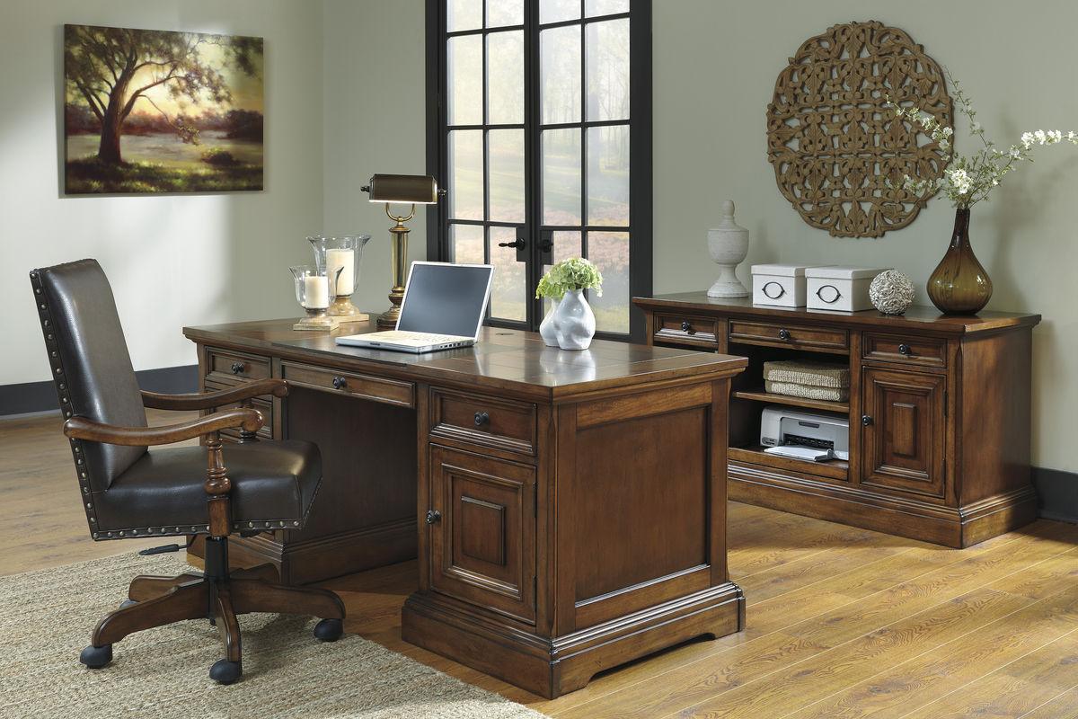 Gaylon Home Office Swivel Desk Chair H704 01a Fdrop 170629