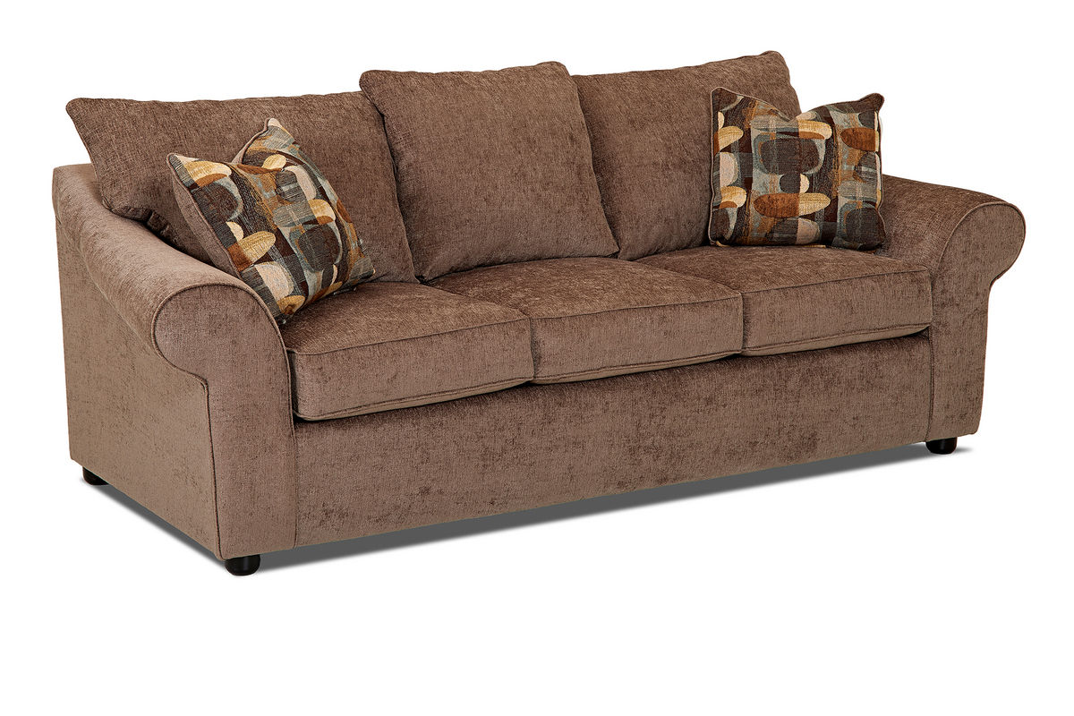 Brown Chenille Sofa Jackson Avery Chenille Sofa With