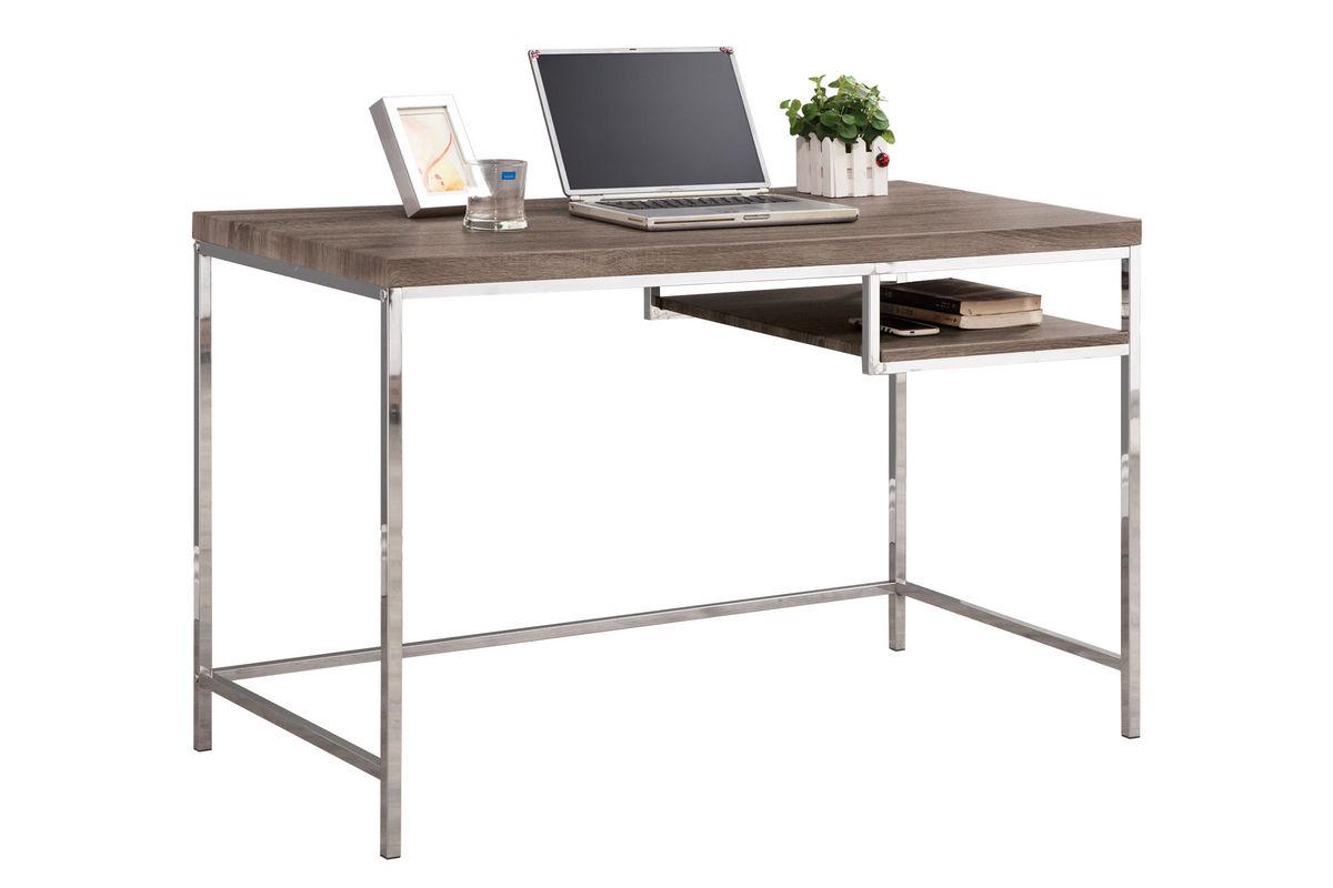 Contemporary Writing Desk With Shelf